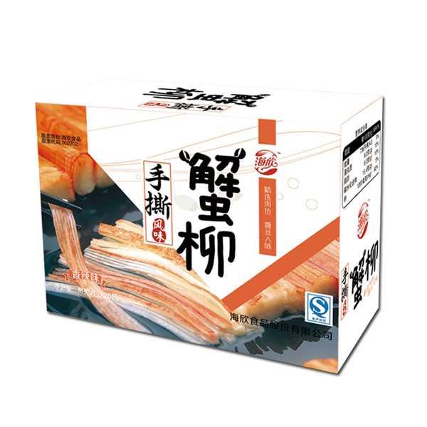 海欣手撕蟹柳  18g×20包盒 多口味可选 满99包邮
